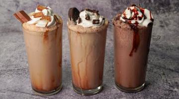 Recipe 3 Easy Milkshake Recipe | Chocolate Milkshake | Oreo Milkshake | Kitkat Milkshake | Yummy