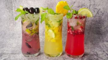 Recipe 3 Easy Mojito Recipe | Pomegranate Mojito | Grapes Mojito | Pineapple Mojito |Summer Mocktail Recipe