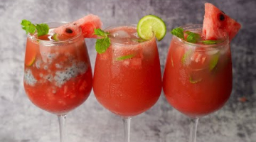 Recipe 3 Easy Watermelon Drinks   Refreshing Summer Drinks Recipe   Yummy