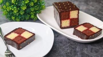 Recipe Battenberg Cake Recipe | Eggless & Without Oven | Yummy