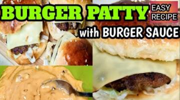 Recipe BEEF BURGER PATTY/BURGER PATTY (EASY RECIPE)