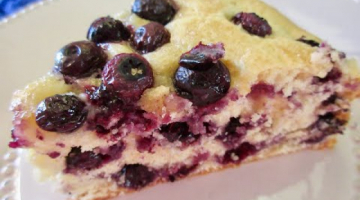 Recipe BLUEBERRY CAKE | Moist & Tasty | Easy DIY demonstration