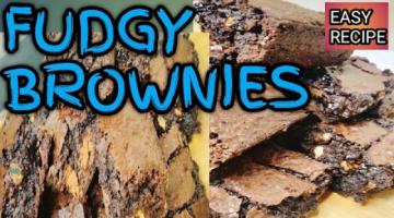 Recipe BROWNIES/HOW TO MAKE FUDGY BROWNIES?/CHOCOLATE BROWNIES EASY RECIPE