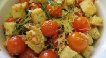 Recipe CHERRY TOMATOES & BASIL | SIDE DISH | How to make Recipe