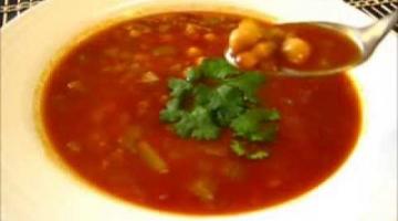 Recipe CHICKPEA & LENTIL SOUP - Hearty CHICKPEA & LENTIL SOUP Recipe