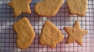 Recipe Christmas Day cutout GINGERBREAD COOKIES - How to make GINGERBREAD COOKIES demonstration & recipe