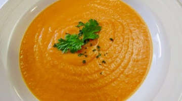 Recipe CREAM OF CARROT SOUP   Healthy & Hearty   Organic SOUP Recipe