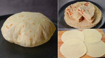 Recipe Easy Tortilla Recipe With Frozen Tips   Soft Phulka Recipe   Roti Chapati Recipe   Yummy