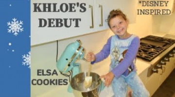 Recipe ELSA BLUE & WHITE SWIRLED CHOCOLATE CHIP Cookies   Vanilla Morsels   Disney Inspired