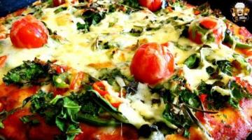 Recipe FRESH GARDEN SALAD PIZZA