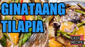 Recipe GINATAANG TILAPIA