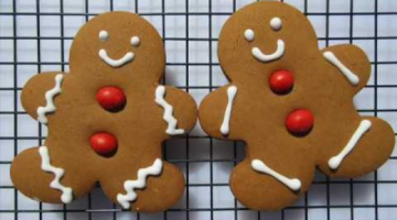 Recipe GINGERBREAD COOKIES | STAIN GLASS COOKIES | Christmas Cookie Recipes