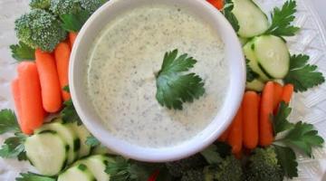 Recipe Green GODDESS DIP | Vegetable DIP | DIY Demonstration