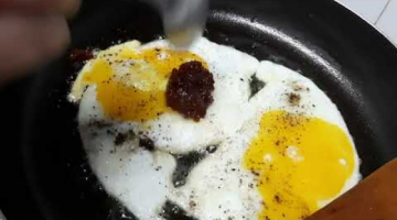 Recipe High protein, fiber and iron rich diet for diabetics - spinach fried eggs