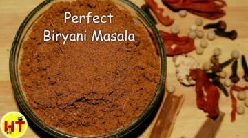Recipe Homemade Biryani Masala Recipe