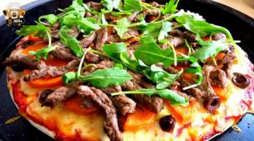 Recipe HOMEMADE LAMB & SWEET POTATO PIZZA RECIPE