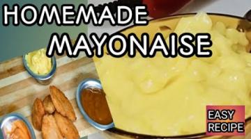 Recipe HOMEMADE MAYONAISE(EGG WHITE)