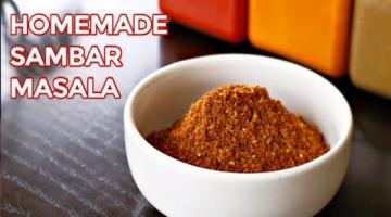 Recipe HOMEMADE SAMBAR POWDER