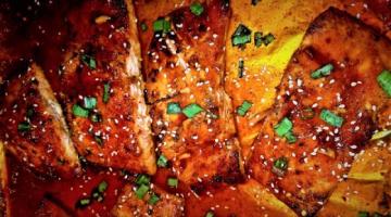 Recipe Honey Sriracha Salmon