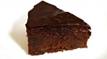 Recipe HOW TO MAKE A CHOCOLATE MUD CAKE