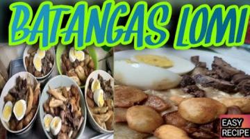 Recipe HOW TO MAKE BATANGAS LOMI? LOMI (EGG NOODLE SOUP)