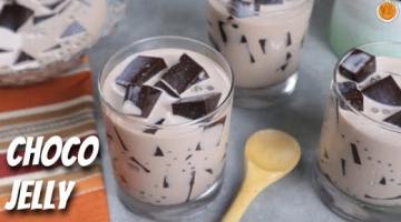 Recipe How To Make CHOCO SAGO JELLY