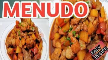 Recipe HOW TO MAKE MENUDO?MENUDO (EASY RECIPE)