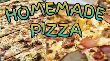 Recipe HOW TO MAKE PIZZA DOUGH?/HOMEMADE PIZZA/SIMPLE PIZZA SAUCE RECIPE/PIZZA DOUGH RECIPE