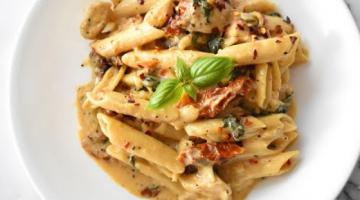 Recipe How To Make Tuscan Chicken Pasta
