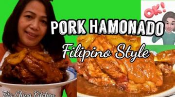 Recipe How to Cook Pork Hamonado Filipino style