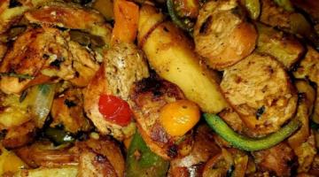 Recipe Italian Sausage & Potatoes - One skillet
