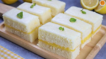 Recipe Lemon Inipit | Lemon Glazed Inipit with Lemon Curd Filling | How to Make Inipit