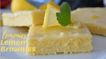 Recipe Lemonies ( Lemon Brownies )