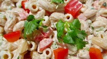 Recipe MACARONI SALAD | American STYLE | Side Dish Favorite
