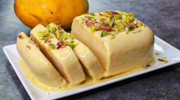 Recipe Mango Ice Cream In Lock-Down   No Cream No Condensed Milk Ice Cream Recipe   Yummy