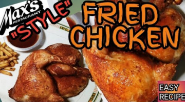 Recipe MAX's STYLE FRIED CHICKEN