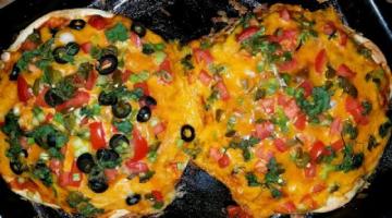 Recipe Mexican Pizza