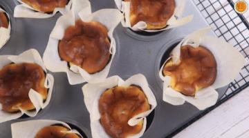 Recipe Mini Basque Burnt Cheesecake Recipe