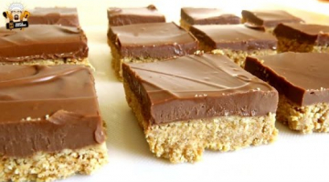 Recipe NO BAKE COOKIE BUTTER BARS