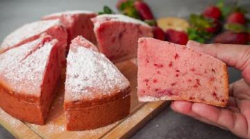 Recipe No Egg No Oven Strawberry Cake Recipe | Yummy