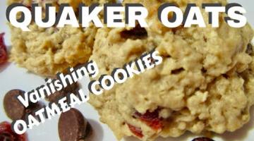 Recipe OATMEAL COOKIES   Quaker Oats Vanishing Cookies   DIY for Beginners