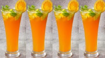 Recipe Orange Mojito | Summer Drinks Orange Mocktails | Yummy #Shorts