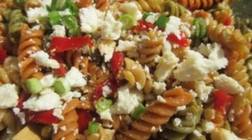 Recipe PASTA SALAD - How to make BALSAMIC VINEGAR PASTA SALAD Recipe