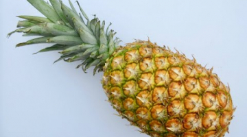 Recipe PINEAPPLE | How to cut a whole fresh PINEAPPLE