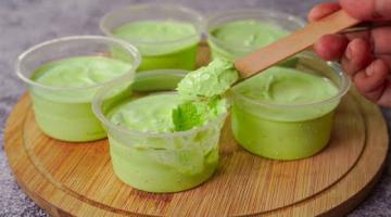 Recipe Pista Cup Ice Cream Without Mixer | Homemade Pistachio Ice Cream Recipe | Yummy