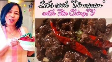 Recipe How to cook Pork Dinuguan