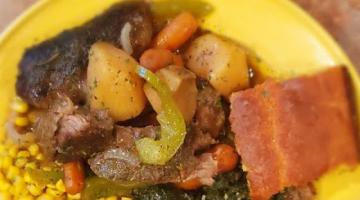 Recipe Pot Roast in gravy w/Potatoes&Carrots