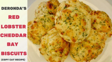 Recipe Red Lobster CHEDDAR BAY BISCUITS | MIMIC-STYLE | DIY for Beginners
