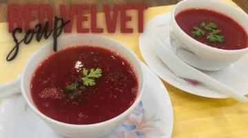 Recipe Red Velvet Soup | Healthy and Delicious Mix Veg Soup | Low Calorie soup