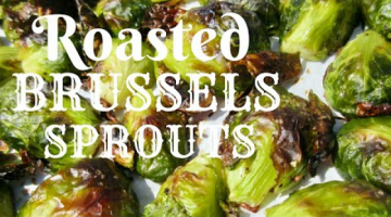 Recipe Roasted BRUSSELS SPROUTS | Healthy Food | Easy DIY Demonstration